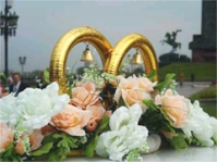 Два кольца - символ бракосочетания