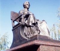 Памятник Екатерине в Марксе
