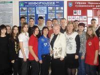 Нина Лукашова – Уполномоченный по правам человека в Саратовской области и Анна Паршина – зам. главы по социальной сфере администрации Марксовского района