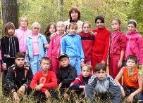 Валентина Спирина со своими учениками