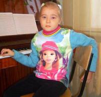 Катя Шаклеина на занятиях в реабилитационном центре