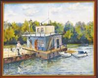 Одна из картин студента марксовского училища искусств, отделения живописи