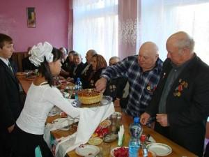 Чествование ветеранов Зоркинского округа