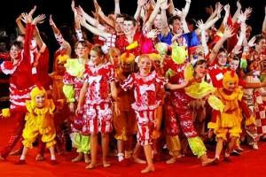 В день рождения на цирковой арене выступили 50 артистов