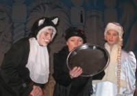 Фрагмент театрализованного представления в доме культуры г. Маркса