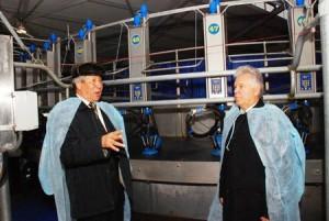 Молочный комплекс на племенном заводе «Трудовой»