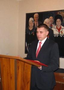 Юрий Моисеев - глава района
