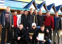 Марксовская команда «Эльдорадо» по мини-футболу