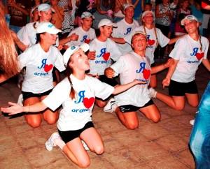 """Праздник танца в лагере """"Огонёк"""""""