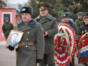 Церемония возложения венков в парке Победы