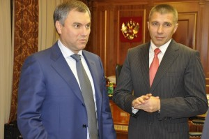 Вячеслав Володин и Юрий Моисеев