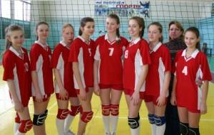 Команда по волейболу города Маркса