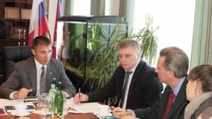 Встреча американского бизнесмена и его партнёров из компании «Мировая техника» с руководством района и представителями облминсельхоза