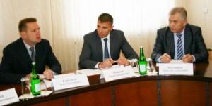 Олег Коргунов, Юрий Моисеев и Николай Болдырев