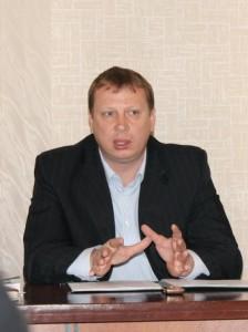 Глава города Маркса Александр Шаталин