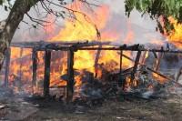 Пожар на углу Заводской и Бебеля