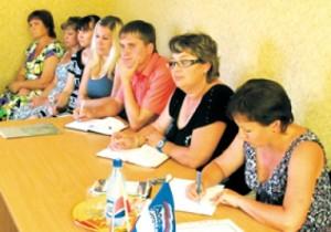 Встреча с сельчанами заместителя министра по делам муниципальных образований Саратовской области Людмилы Жуковской