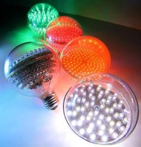 Энергоэффективные лампы и светодиоды