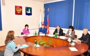 Совещание с руководителями территориальных подразделений федеральных органов исполнительной власти