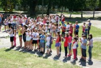 Открытие летнего сезона в детском санаторно-оздоровительном лагере «Ровесник»