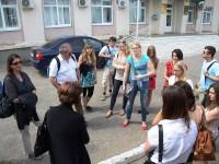 Студенты из Германии в Марксовском районе