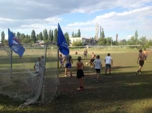 Открытая тренировка по футболу