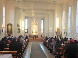 Завершение «года веры» в католическом храме Христа Царя Вселенной