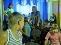 Волонтеры храма в Центре «Семья»