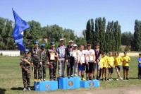 Соревнования добровольных дружин юных пожарных
