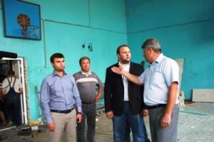 О ремонте спортзалов в сельских школах
