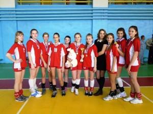 Областной турнир по волейболу в Марксе