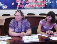 Татьяна Журик провела прием граждан