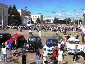Карнавальное шествие к Дню города