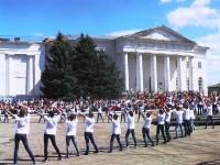 История города в танцевальных ритмах