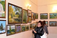 Открытие художественной выставки