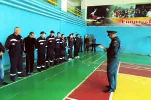 Соревнования добровольцев пожарной охраны