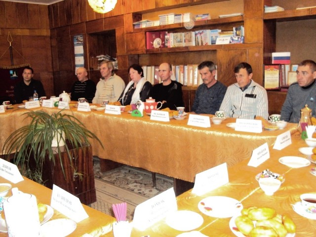 Встреча главы администрации с аграриями