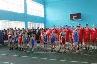 Спортзал в подлесновской школе