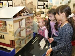Дети в музее МЧС
