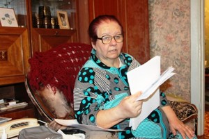 Тамара Александровна Сутырина — пенсионерка из Колоса