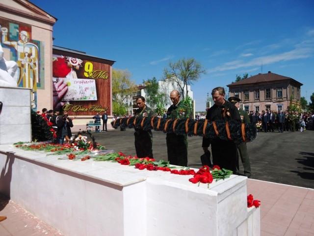 День Победы в Марксе