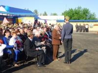 Открытие мемориала в Павловке