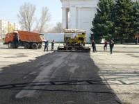 Почему городскую площадь отремонтировали?