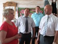 Село Орловское: визит Олега Тополя