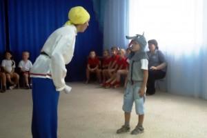 Юные пожарные: спортивно-театрализованное мероприятие