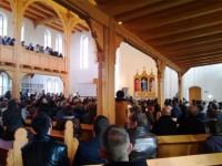 Открытие лютеранской кирхи