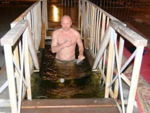 Вода и Олег Тополь