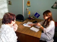 Саратовские врачи в Подлесном