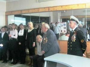 Участника Сталинградской битвы, почётный гражданин района Иван Семёнович Фомичёв