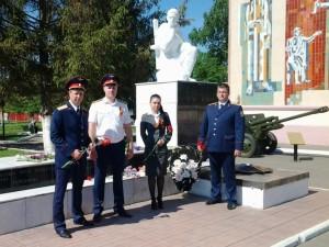 Сотрудники марксовского следственного отдела навестили ветерана